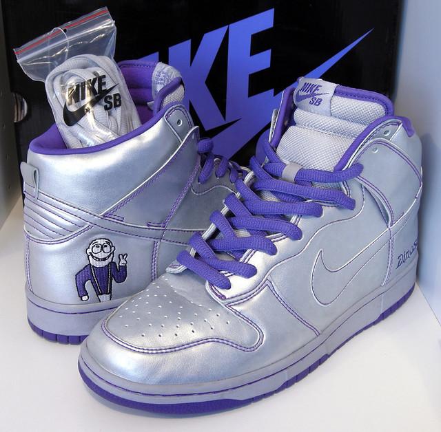 d835562d42 Nike Dunk SB High by Dinosaur Jr. | by http://davidwang.