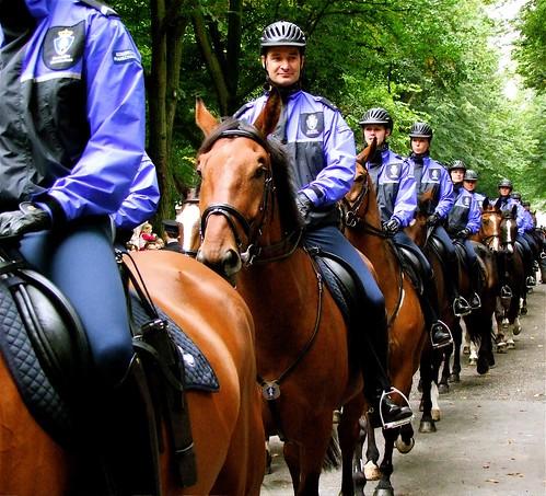 Koninklijke Marechaussee op het Lange Voorhout | by Roel Wijnants