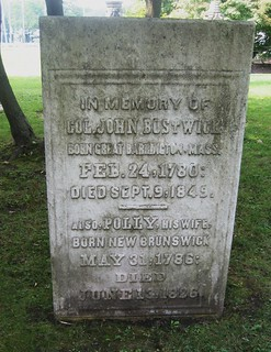 Col. John Bostwick - buried 1849 at the Christ Church Cemetery, Port Stanley, Ontario, Canada | by Elgin OGS