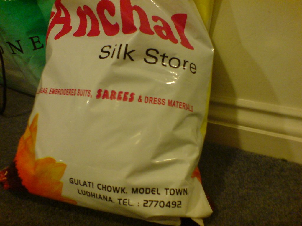 Bag from Anchal Silk Store, Ludhiana   Me   Flickr