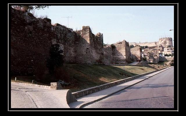Griechenland-Thessaloniki - Byz.türk. Zitadelle