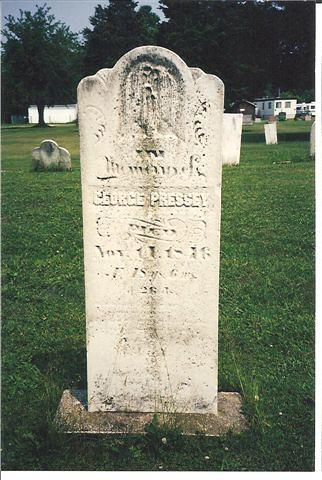 George Pressey gravestone Port Burwell | by Elgin OGS