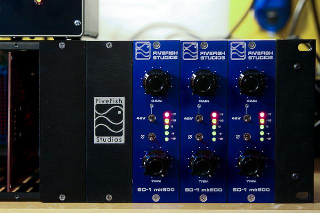 SC-1mk500 Rack Preamps DIY Mic Pre Kit | 500 Series Mic Prea