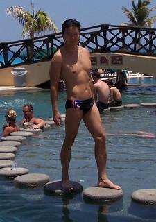Beijing Olympic US Team Speedo pool