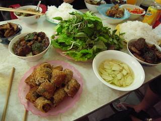 Bun Cha lunch
