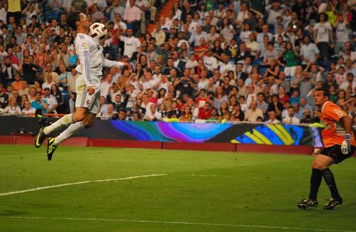 Control de Cristiano Ronaldo