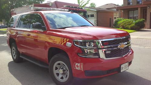 Toronto Fire Platoon Chief 2015 Chevrolet Tahoe Photo