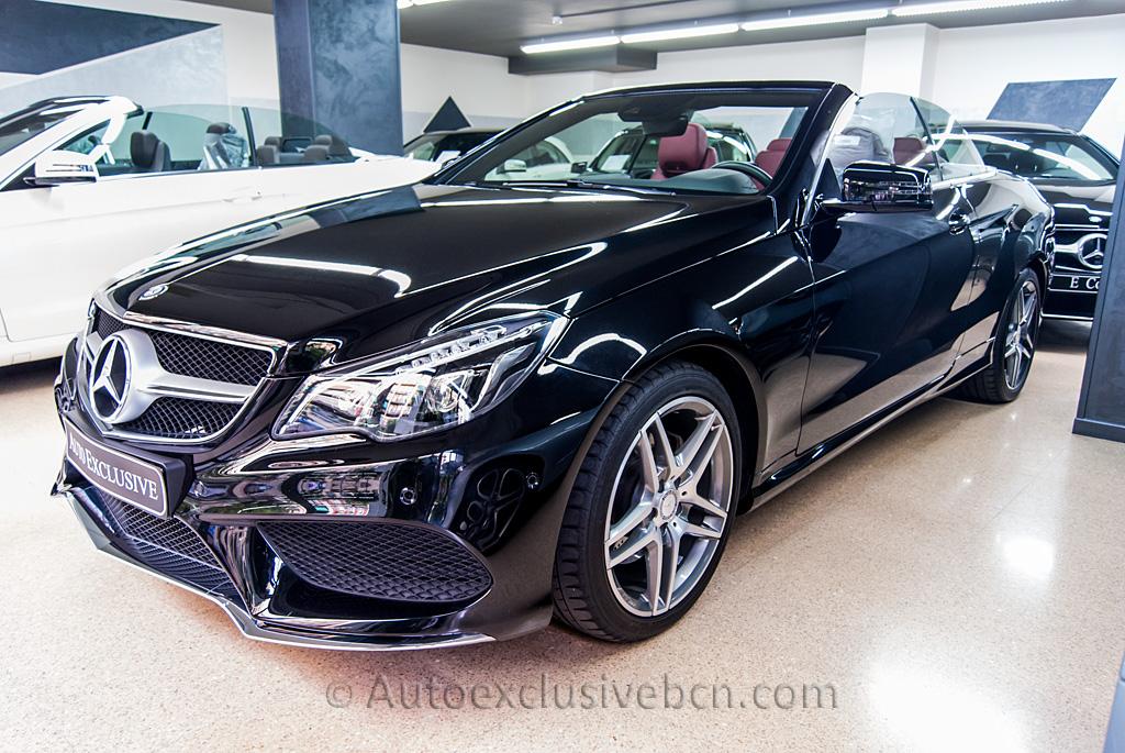 Mercedes Benz Clase E 250 Cdi Cabrio Amg 204 C V Neg Flickr