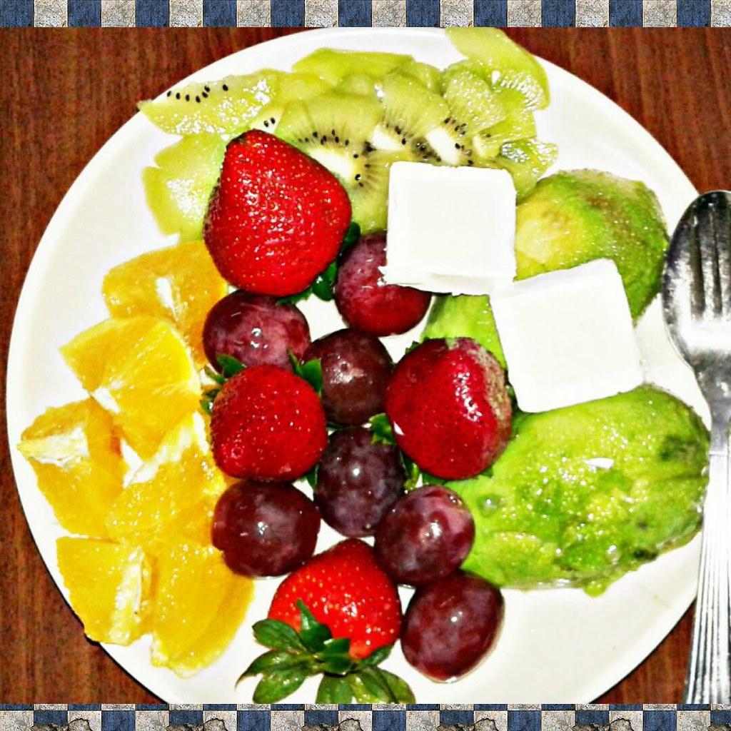 Good Morning Breakfast Fruits Overload Yay Ilove Flickr