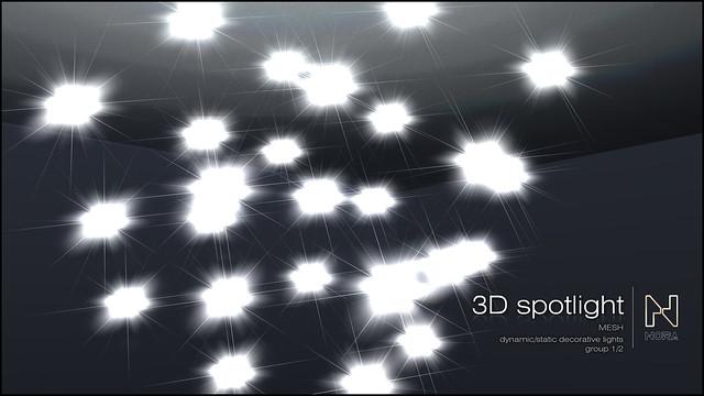 3D spotlight cover