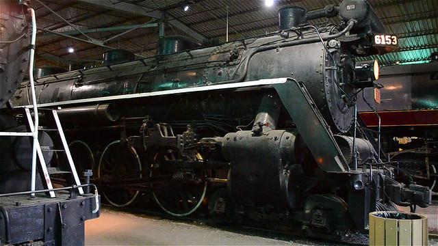 Canadian National 6153 Steam Locomotive