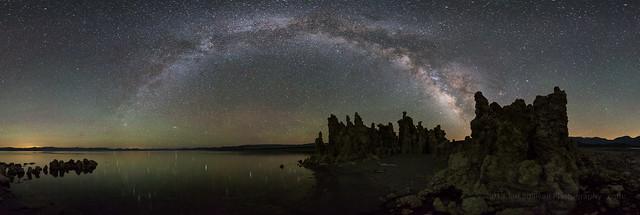 Mono Lake Milky Way Panorama