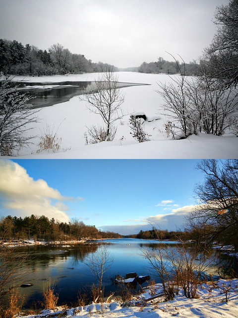 What a Difference Two Weeks of Cold Weather and a Snow Storm Make