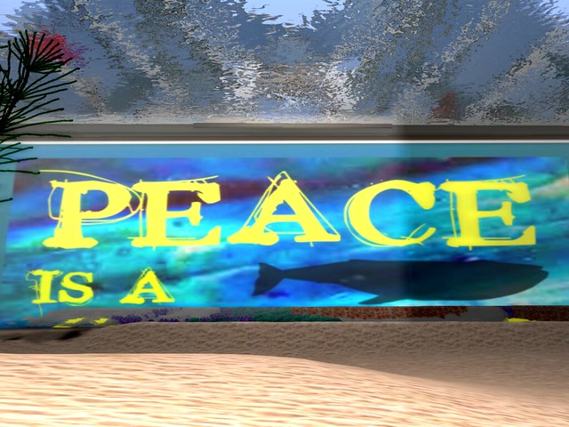 Peace Is A Choice Gallery -Submergence of Peace
