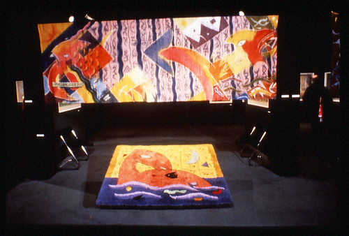 Silk Banner and rug City Art Gallery Wellington 1984 600pdi