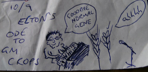 eltons ode to gm crops