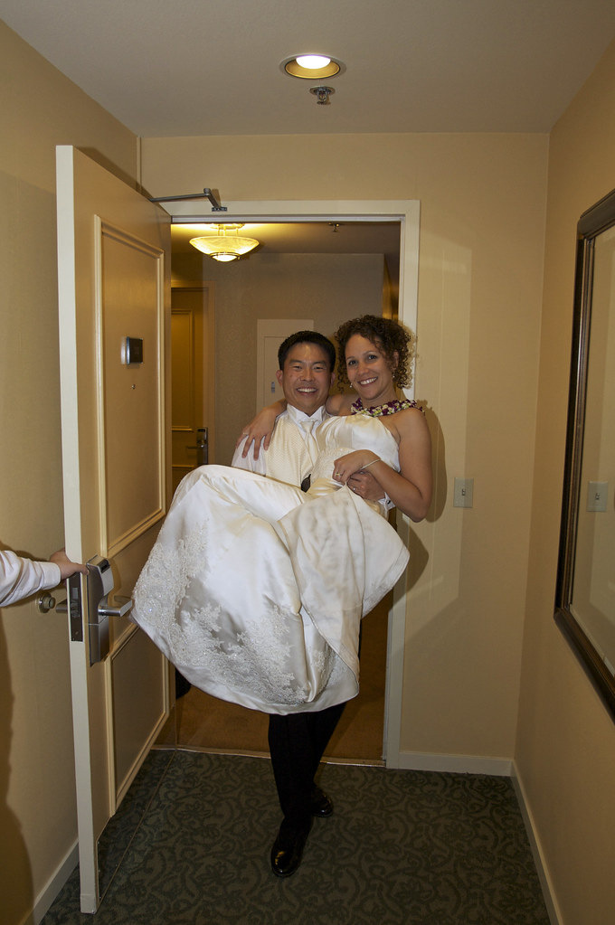 Carrying My Wife Across Our Hotel Room Threshold Kelly Hirano