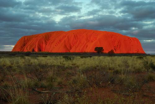 Uluru at sunset | by Richard.Fisher