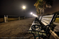Lonely, Foggy Night (HDR) | by delta.V