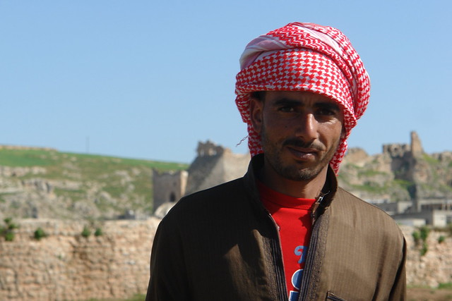 Shepherd under Sheizar Castle