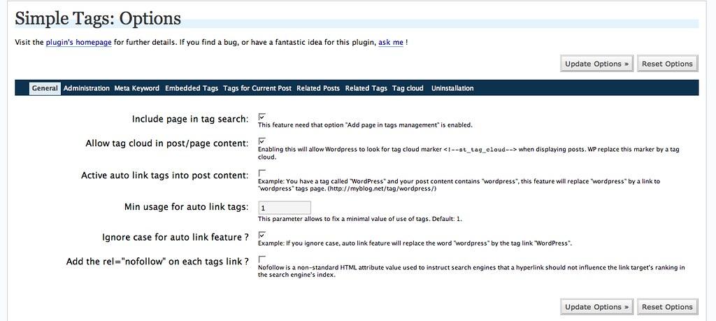 Simple Tags Plugin for WordPress