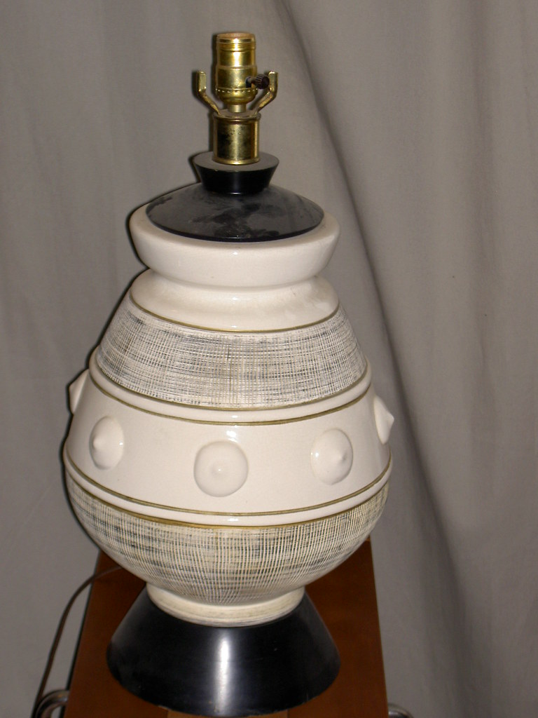 75 Funky Mid Century Modern Ceramic Table Lamp 23 Inche