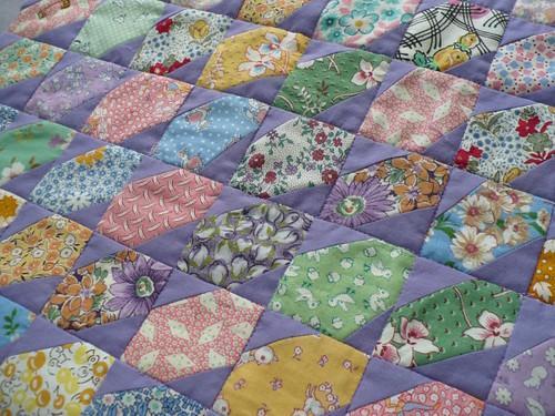 lavender quilt 1