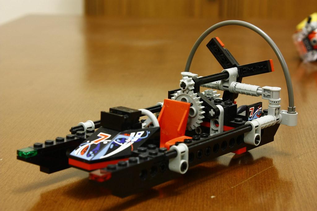 Lego Technic 8223 Rennboot Ysfylmz Flickr
