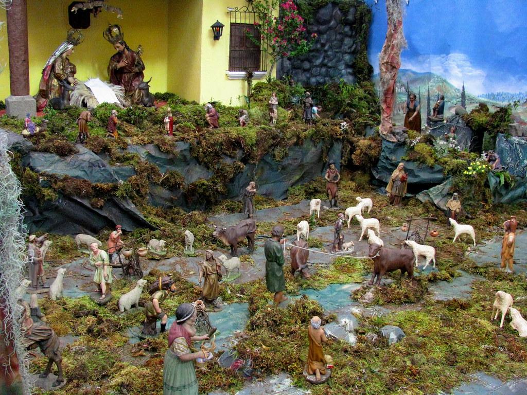 Fotos Del Nacimiento De Navidad.Nacimiento Del Templo De La Merced Guatemala Navidad 200