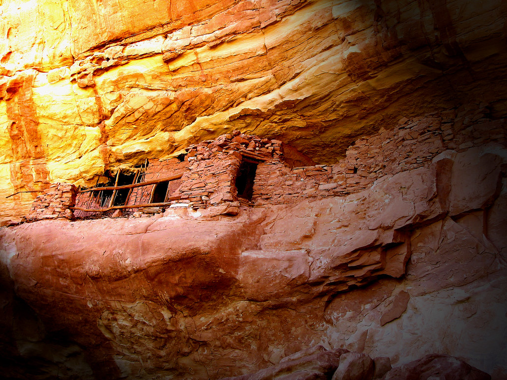 Banister Ruin - via Collins Canyon by Red Dirt Dawg