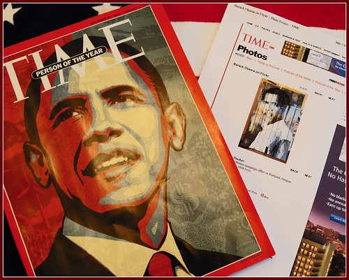 TIME Magazine; Person of the Year, Greg's Art and My Photo Online   by Tony Fischer Photography