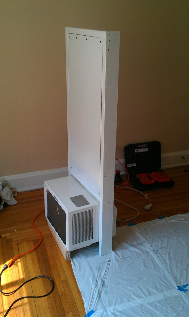 Sliding Window Air Conditioner Frame Outer Side Nathan