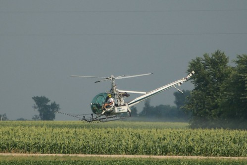 Crop Dusting Helicopter | by pmarkham
