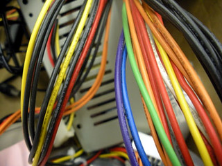 Pretty wires at work | by CraftyHope