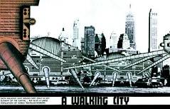 Walking City, Ron Herron/Archigram | by BLDGBLOG