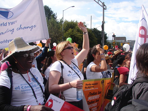 World YWCA at AIDS 2008