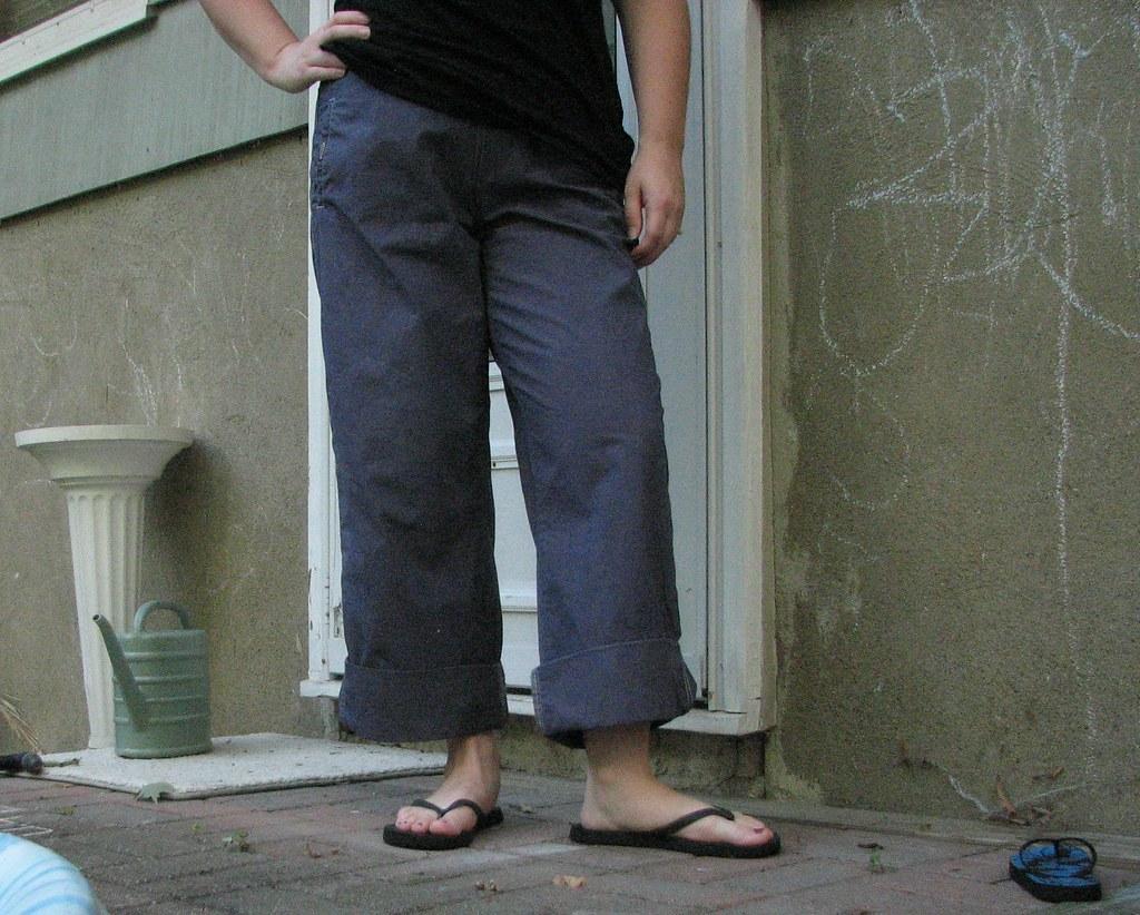 Transformed pants