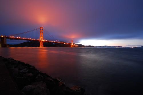 sf sanfrancisco california ca bridge usa fog america twilight dusk goldengatebridge presidio ggb sigma1020 youvsthebest thepinnaclehof