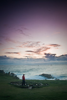 Scillies sunset self-portrait... | by floatingface