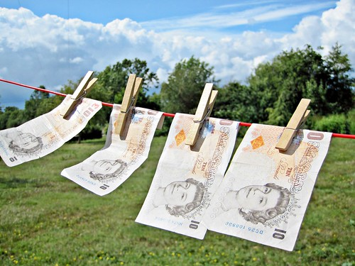 Money Laundering - Pounds | by Images_of_Money