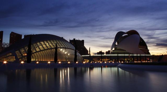 Valencia Science Park - Dusk