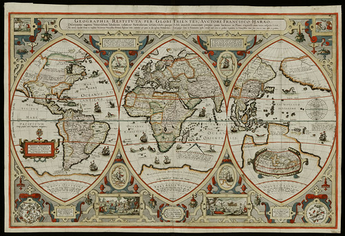 Geographica restituta per globi trientes | by Norman B. Leventhal Map Center at the BPL