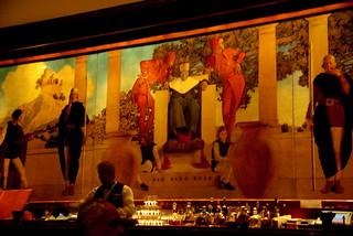 St. Regis Bar - Manhattan - Maxfield Parrish Mural - Old King Cole   by Al_HikesAZ