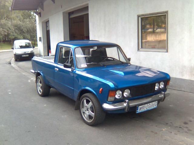 Bardzo dobra Polski Fiat 125p pickup   Sławomir W.   Flickr CS77