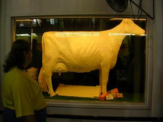 Iowa State Fair Butter Cow
