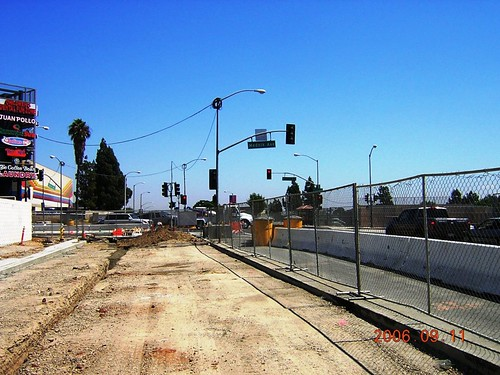 Gold Line E. L.A. Ext. 20060911 Mednick Station Looking East At 3rd & Mednick | by Metro Transportation Library and Archive