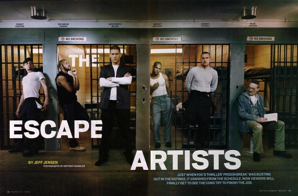 The Cast of Prison Break, Sexy Hot Cons
