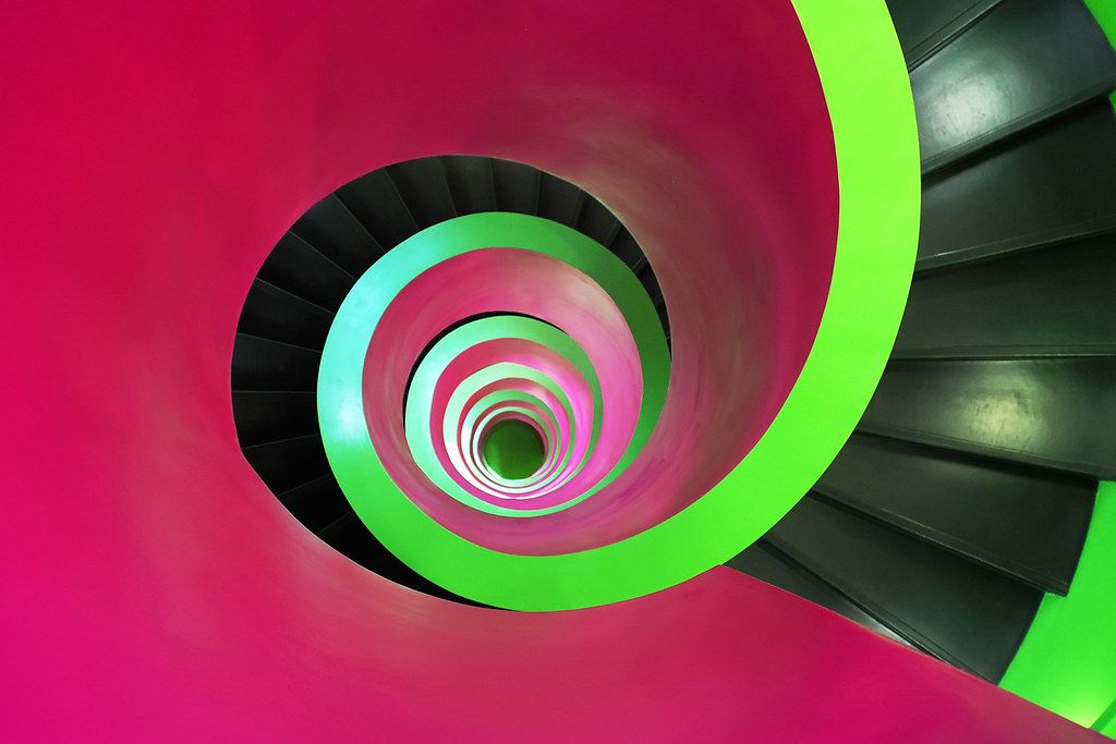 Cottbus | IKMZ University Library - Staircase