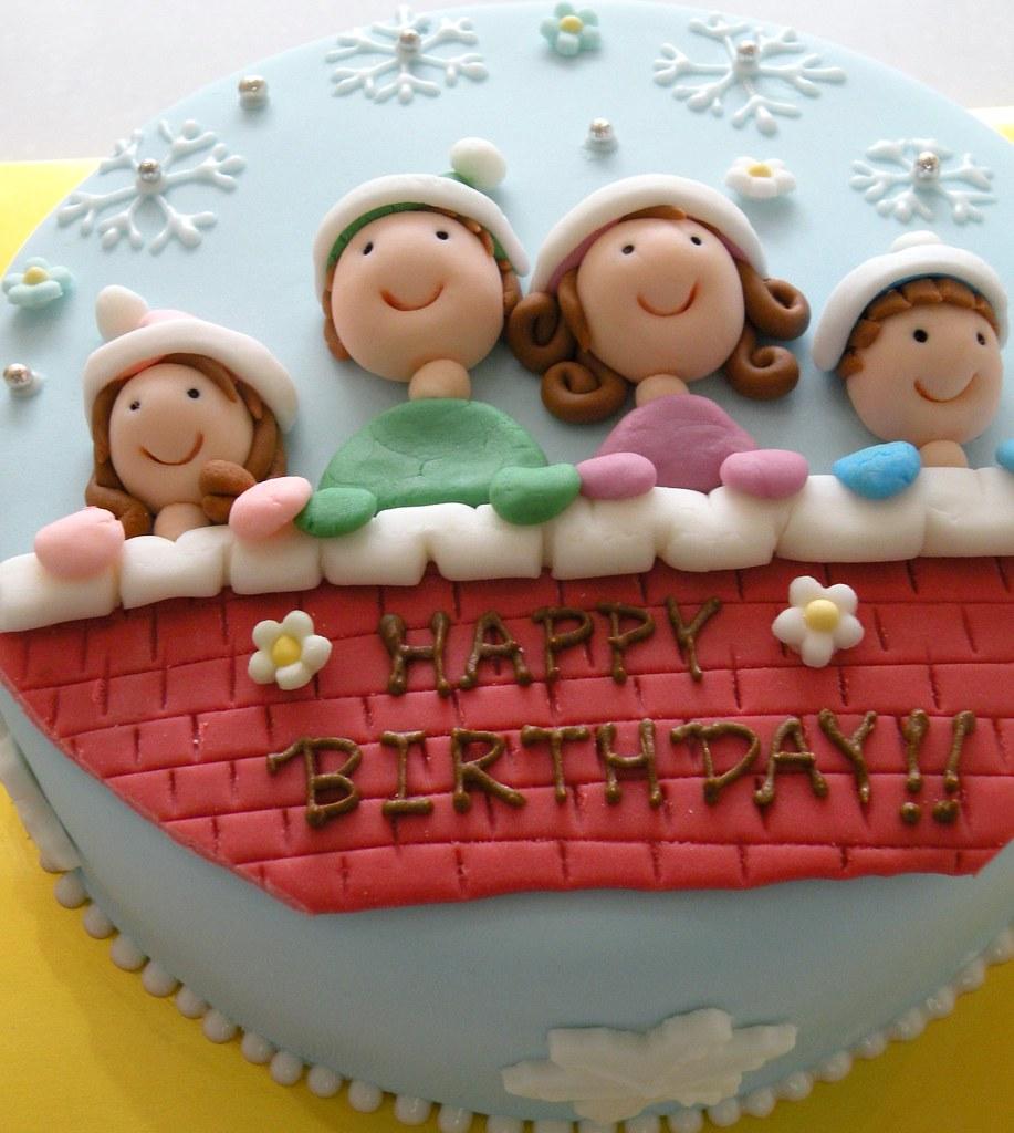 Surprising Birthday Cake Winter Themed Winter Themed Birthday Cake S Flickr Funny Birthday Cards Online Elaedamsfinfo