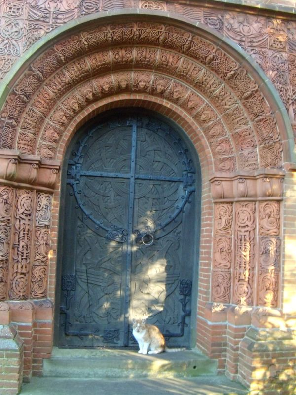 Chapel door Sadly, it was locked. Guildford Circular
